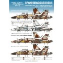 SE1048 / SPANISH AGGRESSORS. 1/48th scale.