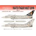 SE3572 - NATO TIGER MEET 2016 / Eurofighter Typhoon / 14th Wing